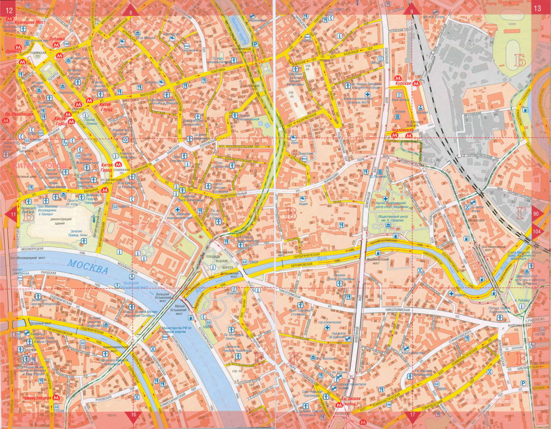 Карта центра Москвы. Подробная карта улиц центра города ...: http://maps-russ.ru/map265220_1_1.htm