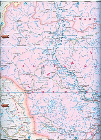 Карта автодорог Ямало-Ненецкого автономного округа. Карта ...: http://maps-russ.ru/318163.html