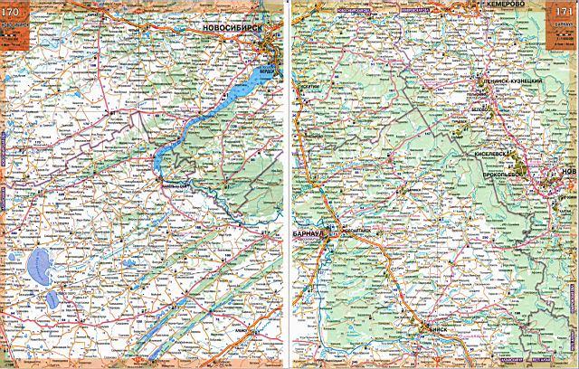 Все карты России. Для увеличения необходимо кликнуть на изображение